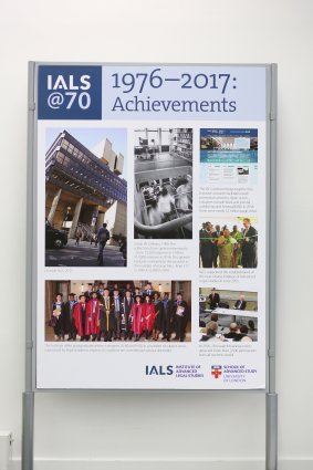 IALS at 70 1976 - 2017: Achievements
