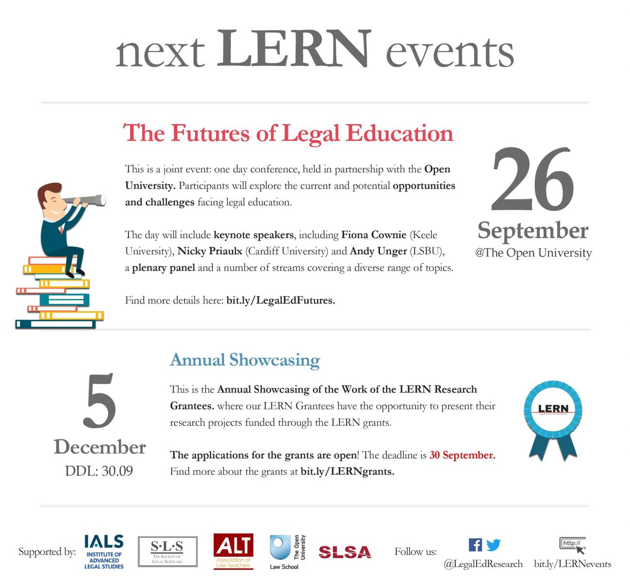 LERN events poster June 2017