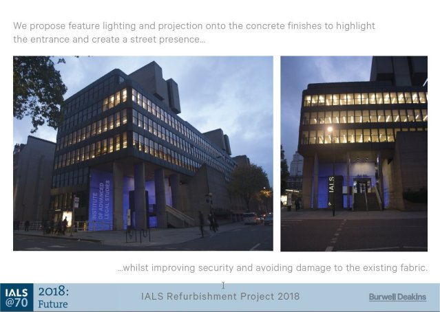 IALS refurbishment project - street view lighting design