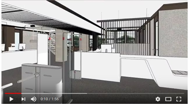 IALS refurbishment project 2nd Floor Library Entrance designs