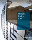 IALS Annual Review 2016 cover