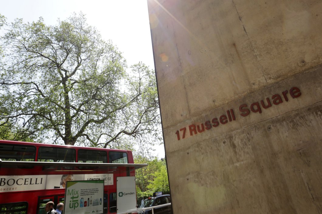 17 Russell Square signage