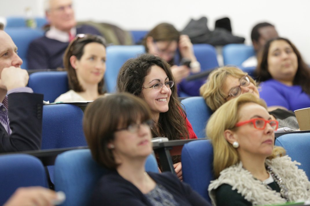 Join an audience at IALS