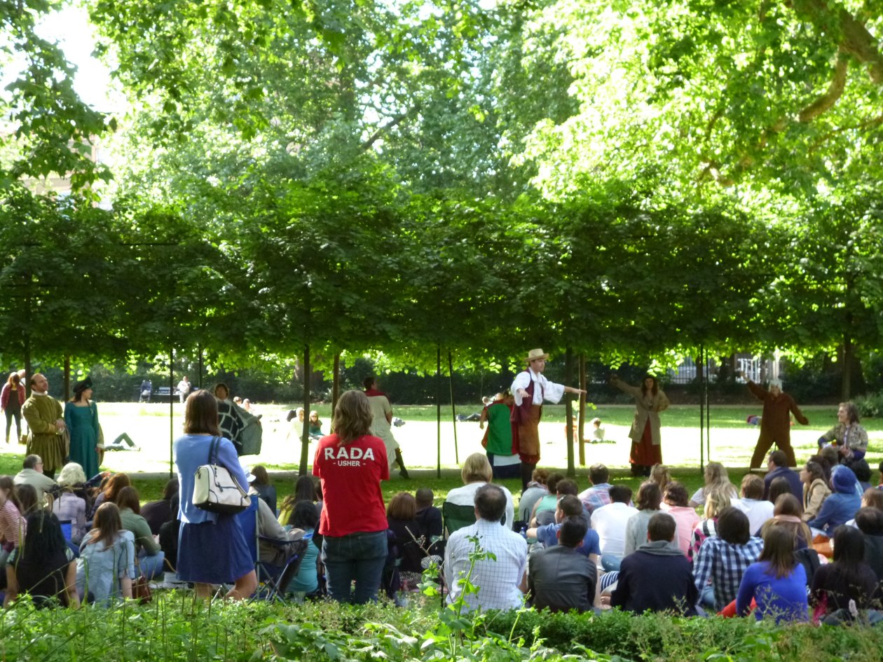 Open Air Shakespeare in Russell Square Gardens