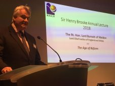 The Sir Henry Brooke Annual Lecture given by Rt Hon Lord Burnett of Maldon, The Lord Chief Justice of England and Wales on the topic of: The Age of Reform.