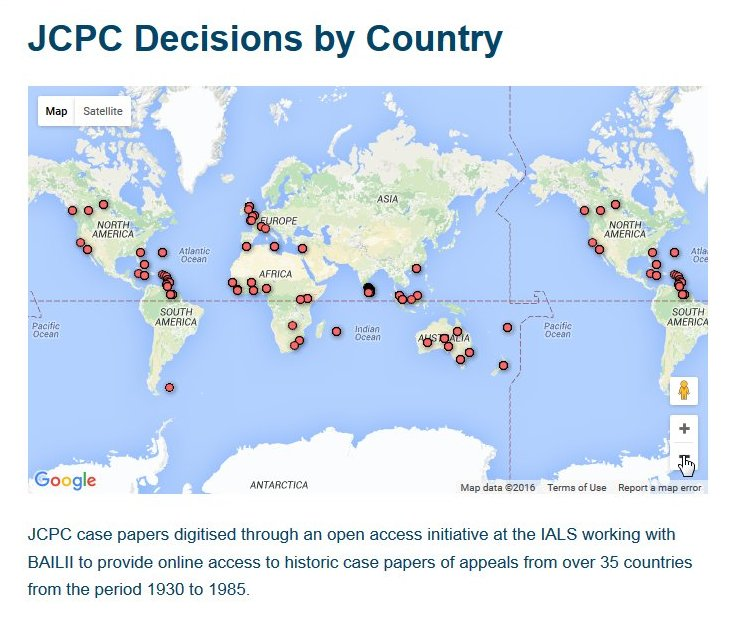 JCPC decisions geographic visualization