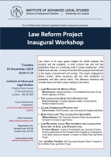 Inaugural workshop poster