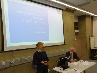 3rd IALS Law Reform Project workshop: Wednesday 1 November 2017