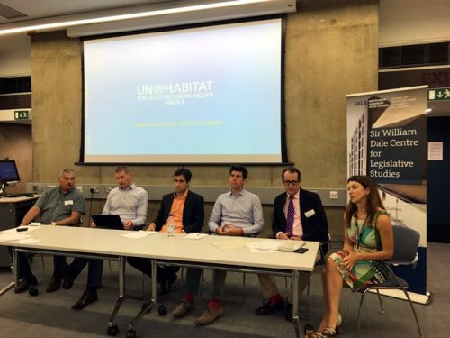 Picture of panel speakers for the 4th Urban Law Day