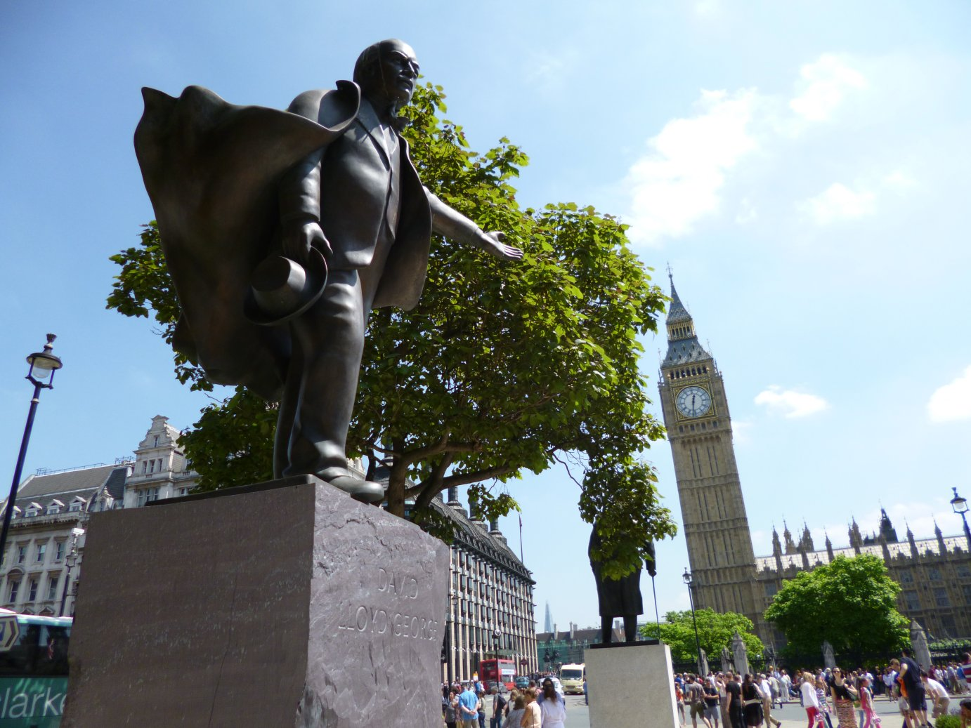 Lloyd George shows the way