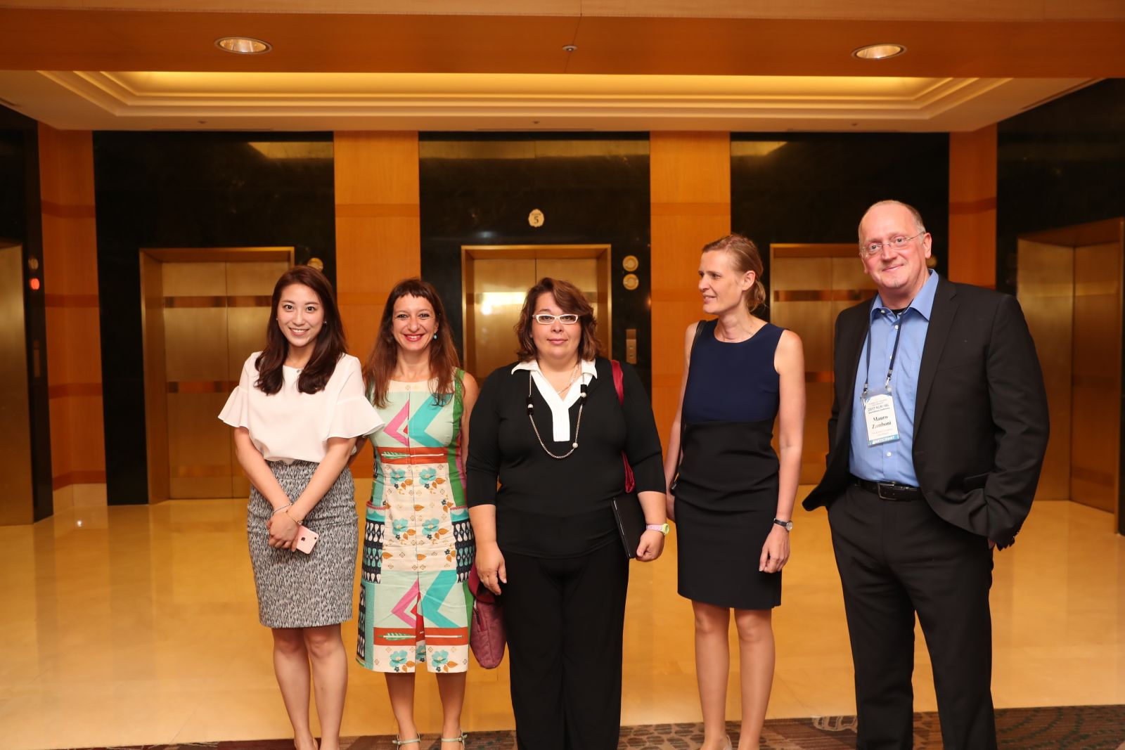 Picture of Professor Helen Xanthaki and Dr Maria Mousmouti with conference participants
