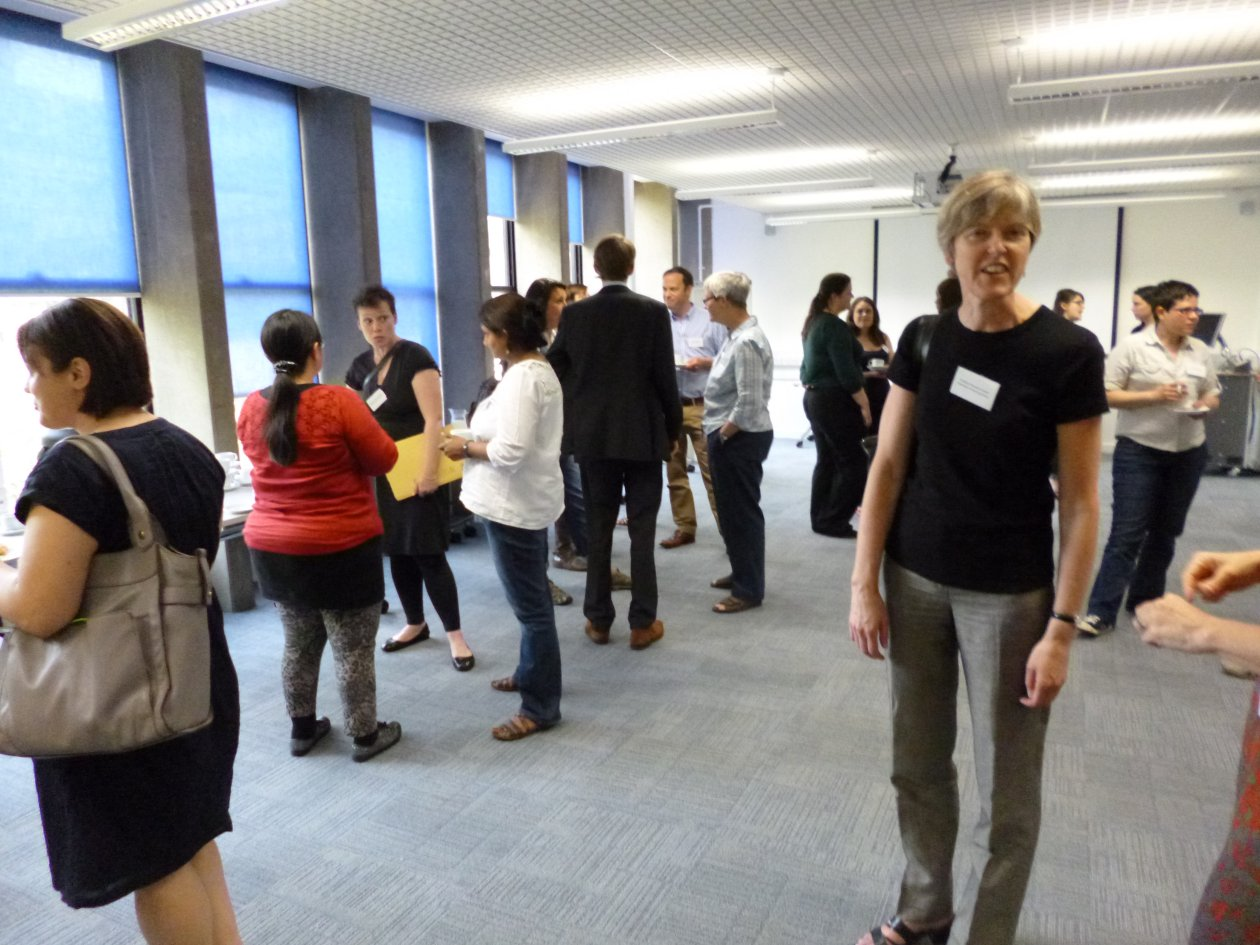 Networking at Socio-legal studies research training day