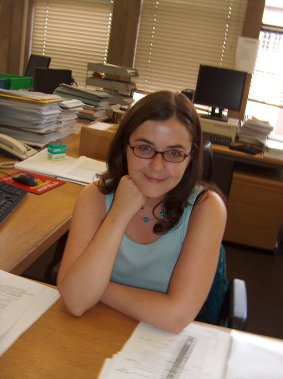 Laura Griffiths, Academic Services Librarian